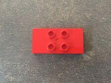 LEGO® Duplo Brick Tile Stein Fliese 2x4x1/2 #6413 Red Rot 9148 1635 3657 2811