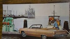 1965 Chevelle Malibu Convertible Dealer Post card NOS unused 65 chevrolet chevy