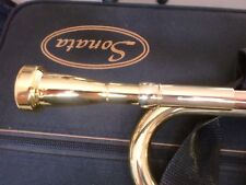 GOLD PLATE Bb TRUMPET MEGATONE 7C MOUTHPIECE -   - AMAZING VALUE AT £12.99