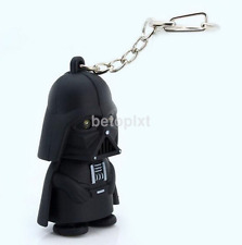 Red Light Up LED Star Wars Darth Vader With Sound Keyring Chic Gift FR