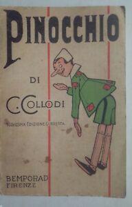 Pinocchio mussino 1933 @ Bemporad