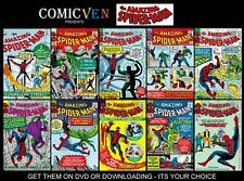 THE AMAZING SPIDERMAN COLLECTION OF 800 DIGITAL COMICS