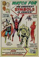 MARVEL #1 FIRST ISSUES, ORIGINS, 1ST APP & KEY comic books lot - DAREDEVIL #13,