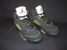 Nike Air Jordan V 5 2006 Retro (GS) 134092 004 Black Metallic Silver Youth 5.5
