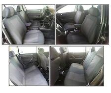 LUJO Cobertura de Asiento Forro Protectores Noor para VW GOLF 3 4 5 6 Negro Kit
