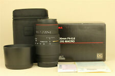 MINT in Box Sigma AF 70-300mm f/4-5.6 APO DG Macro Lens for Sony Minolta