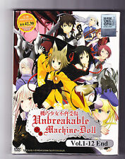 *NEW* UNBREAKABLE MACHINE DOLL - 12 EPISODES - ENGLISH SUBTITLES - ANIME LOT