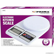 5kg Digital Electronic Kitchen Postal Scales Weighing Weight Prima (FAST DISPATC