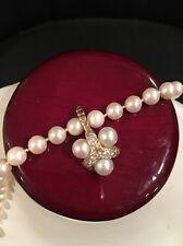 14k Yellow Gold Pearl Enhancer Pendant With Genuine Diamonds
