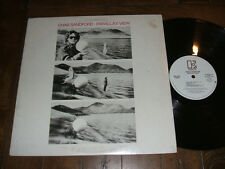 Chas Sandford -Parallax View 1982 White Label Promo LP new wave prog rock NM/VG+