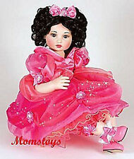 MARIE OSMOND DISNEYLAND 50TH ANNIVERSARY ROSE DOLL #101 SIGNED