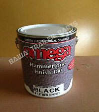PAINT BLACK - Hammertone Finish 4 Litre! Perfect for Trailers! Trailer Parts