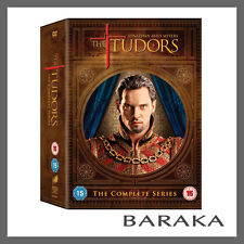 THE TUDORS THE COMPLETE SERIES COLLECTION 1, 2, 3 & 4 DVD BOX SET