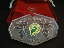 1998 WATERFORD ORNAMENT 'HARK THE ANGELS' IN ORIGINAL BOX