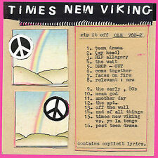 TIMES NEW VIKING - RIP IT OFF (CD, 2008, Matador Records)