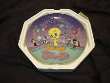 Franklin Mint Happy 50Th Birthday Tweety plate with Coa