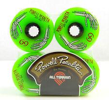 Powell Peralta 69mm 78A ATF All Terrain Formula Skateboard Wheels Green