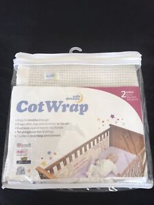 Baby Cotwrap Mesh Bumper For Cot/ Cotbed By Safe Dreams