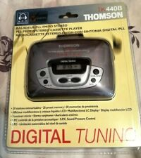 BRAND NEW WALKMAN - THOMSON TK 440B  - FM/MW RADIO CASSETTE STEREO PLAYER