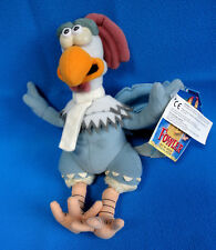 original ❤��� vintage 2000 Dreamworks AARDMAN CHICKEN RUN soft toy FOWLER COCKEREL