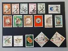 timbres Colombie 1960 - 1965