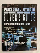 Personal Studio Buyer's Guide Magazine 2002 Our Best Gear Guide Ever-M316