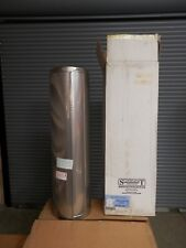"""SuperPro SPR8L36P 8"""" Inside Diameter 36"""" Long Stainless Steel Class A Double Wal"""
