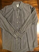 LACOSTE MENS STRIPED LONG SLEEVE BUTTON DOWN SHIRT SIZE 48 XLARGE