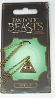New Official Fantastic Beasts and Where to Find Them Triangle Eye Necklace
