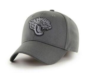 Jacksonville Jaguars Hat charcoal stretch fit L/XL authentic NFL '47 Brand New