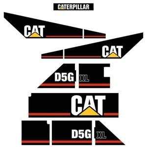 Decal Sticker Set CAT D5G XL Bulldozer Decal Set