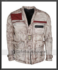 Star Wars The Force Awakens Finn Mens John Boyega Leather Jacket