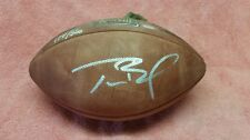 Tom Brady autograph Super Bowl 38 football Limited Edition 174/500,COA. Patriots