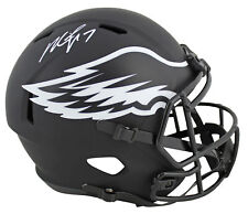 Eagles Michael Vick Signed Eclipse Full Size Speed Rep Helmet JSA Witness