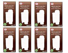 8 x Catrouche de filtre AquaCrest compatible Brita Intenza+ Philips Saeco Gaccia