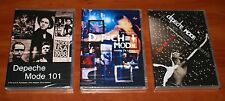 DEPECHE MODE 3x LIVE DVD Lot TOURING THE ANGEL / 101 / ONE NIGHT IN PARIS New