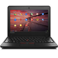 "Lenovo 11.6"" Chrome OS Laptop Intel Celeron 1.5GHz 4GB 16GB SSD - ThinkPad X131e"
