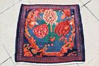 ANTIQUE EXCEPTIONAL RUG 1900 CAUCASIAN MAFRASH BAG FACE RUG WITH GREAT COLORS