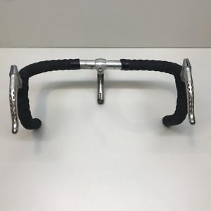 Vintage Cinelli Stem and Cinelli 66-42 26.0 handlebars with superbe brake levers