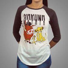 Hip Length Cotton Blend Disney T-Shirts for Women