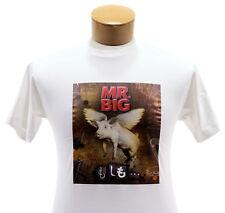 Mr. Big 2011 Original 'What If' Japan Concert Tour T-Shirt Billy Sheehan
