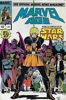 Marvel Age Comic Issue 10 Copper Age First Print 1984 The Official News Magazine