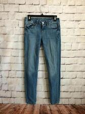 Aeropostale Skinny Jeans, Women's 4R, Medium Wash, Low Rise