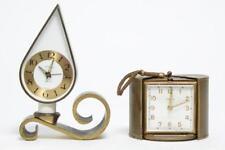 Semca Vintage German Alarm Clocks, incl. Modernist Lot 136
