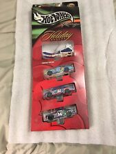 Hot Wheels 2001 Target Exclusive 4 Vehicle Holiday Racers Set