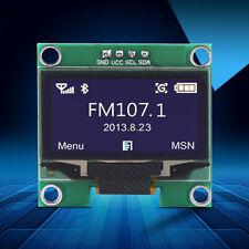"""1.3"""" White IIC I2C Serial 128X64 OLED LCD Display Screen Module For Arduino stw"""