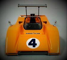 1 1967 McLaren Chevy Race Car Vintage F1 GT Gulf 24 Sport 18 Carousel Orange 12