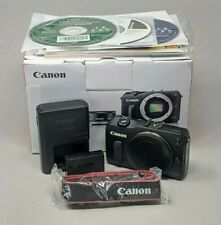 Canon EOS M 18.0 MP Digital Camera Black Body Only
