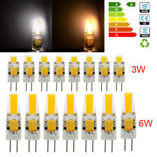 G4 LED COB Bulbs Dimmable 3W 6W Capsule Lamp Replace Halogen BulbS AC DC 12V UK