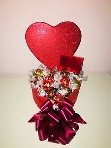 Chocolate Gift Box Hamper Lindt Lindor Personalised Birthday Sweets Him Her